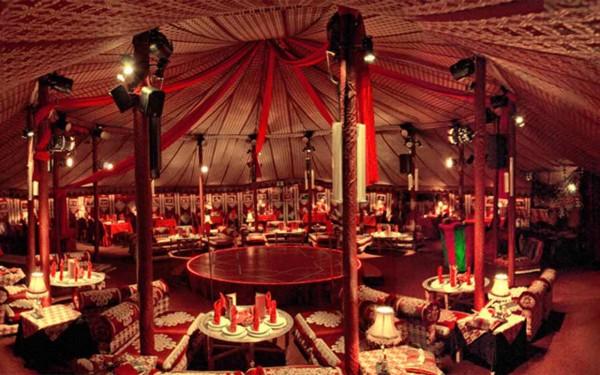 So sieht das Zelt von Innen aus