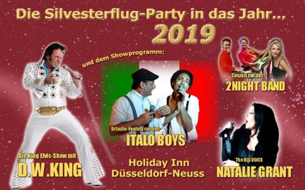 Holiday Inn Düsseldorf - Silvesterflugparty inkl. Übernachtung im DZ