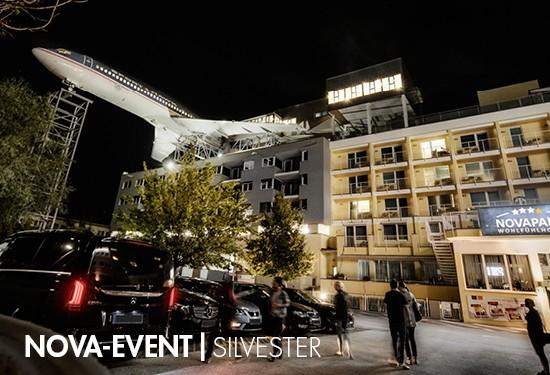NOVAPARK.DAS Flugzeughotel - 1 Nacht, Flieger-Party - A2019