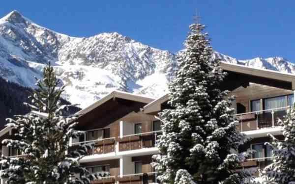 Hotel Kristall Saphir - Singlereise nach Saas Fee
