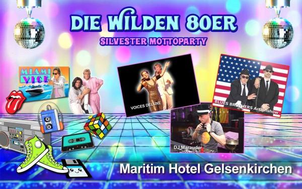 Maritim Hotel Gelsenkirchen - 80er Jahre Party