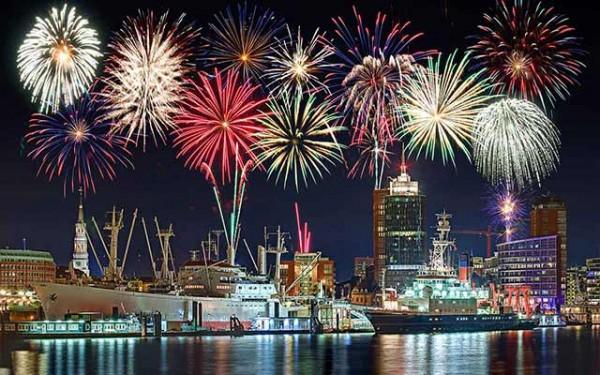 Hafen-Feuerwerk