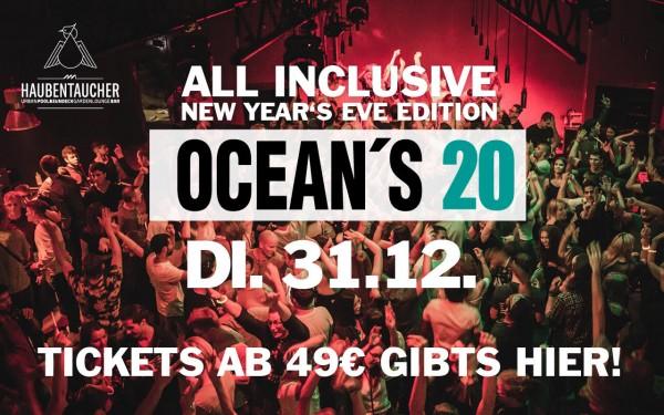 Oceans 20 New Years Eve im Haubentaucher
