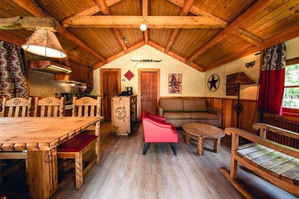 """Freizeit- und Ferienpark Slagharen - """"Cowboy Cottage"""" - Silvestermenü"""
