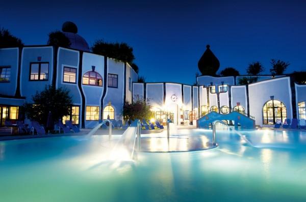 Rogner Bad Blumau - Hotel Therme & Spa - 3 Nächte, romantischer Kurzurlaub