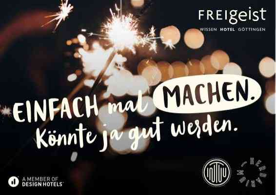FREIgeist Göttingen - A Member of Design Hotels - 2 Nächte